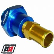 Bosch 044 Hi 044 Fuel Pump Alloy Inlet Adaptor Fitting For 15mm Hose Sytec